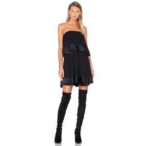 NWT Keepsake Not To Be Tiered Ruffle Mini Dress